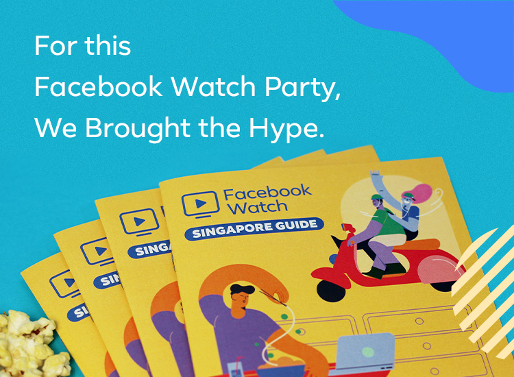 For this Facebook Watch Party, We Brought the Hype.