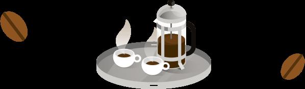 creative illustration done for Starbucks employer branding project