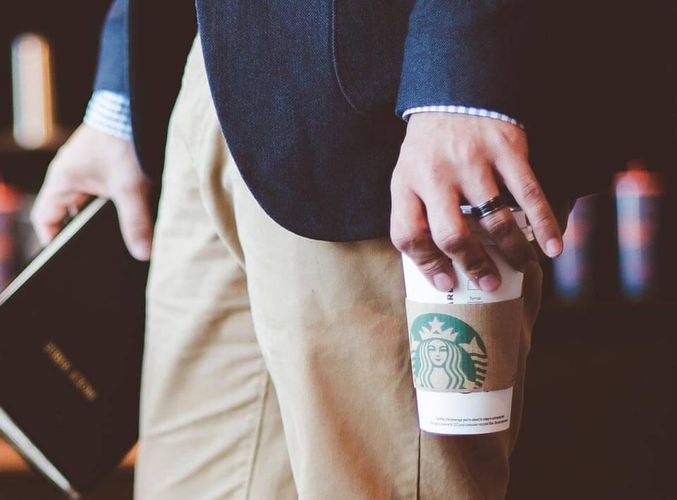 creative hr campaign branding work for Starbucks Singapore