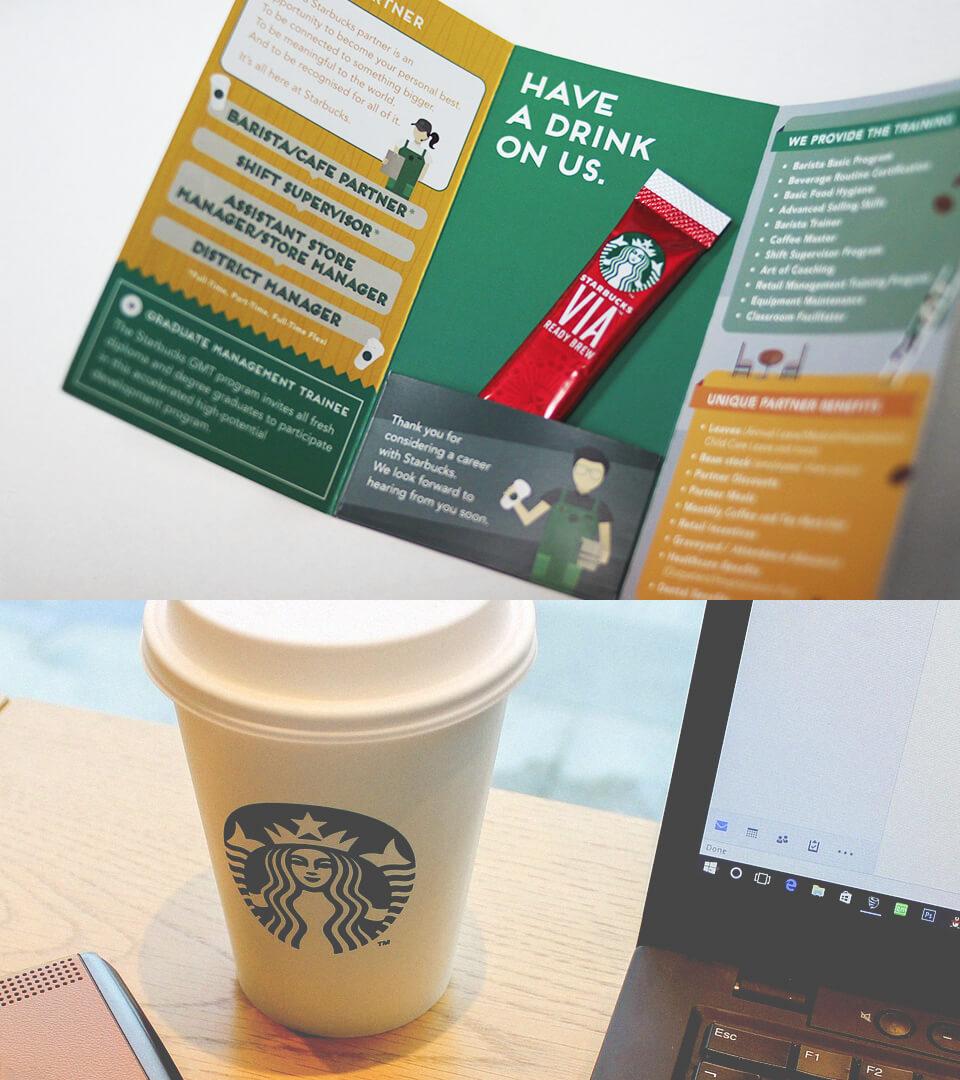 creative talent recruitment strategy for Starbucks Singapore